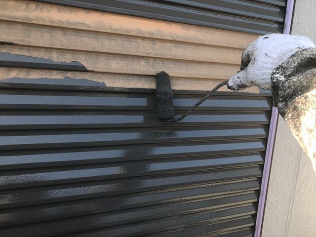 瑞浪市で外壁塗装雨戸塗装
