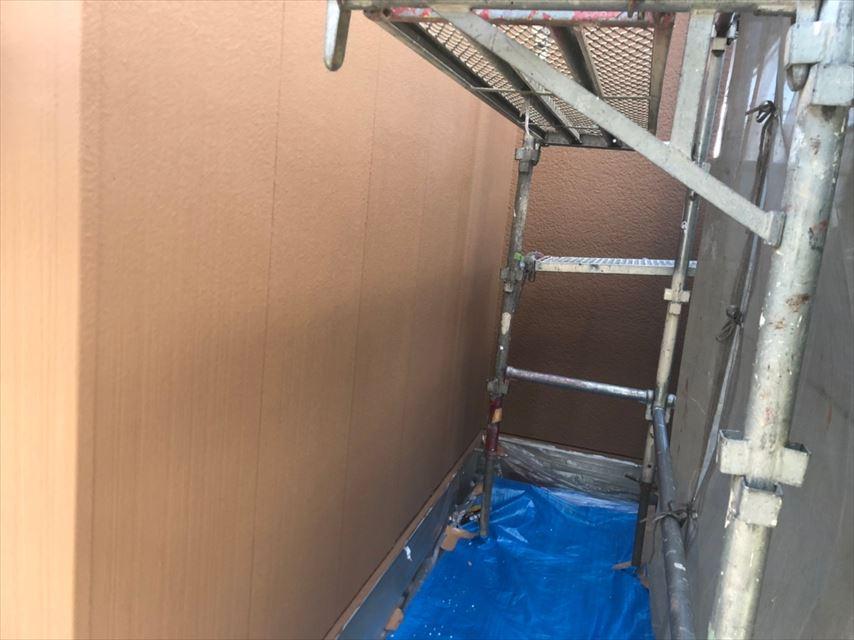 外壁塗装仕上げです