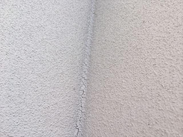 目地シーリング材の劣化