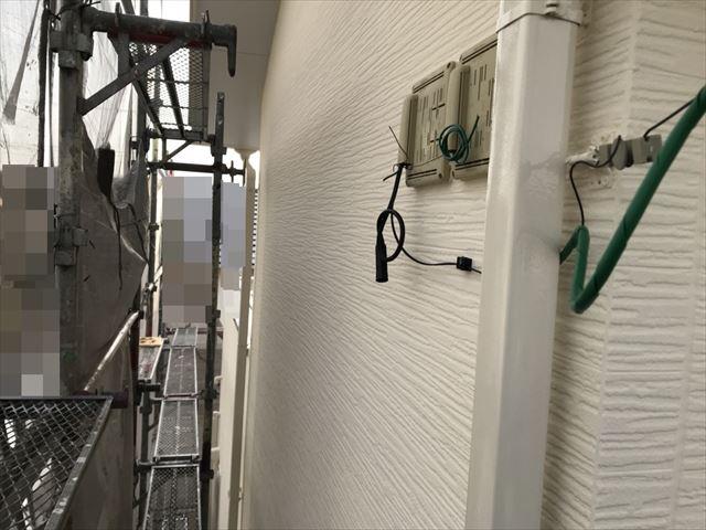 恵那市大井町外壁樋塗装完成