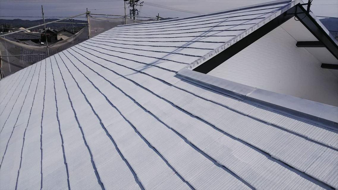 土岐市駄知町屋根遮熱塗料