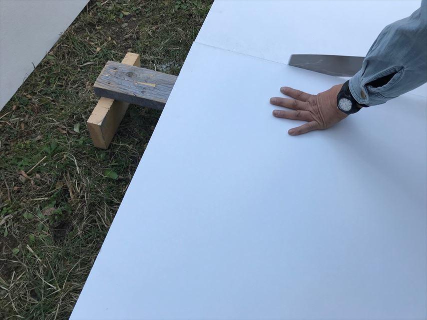 ケイカル板加工