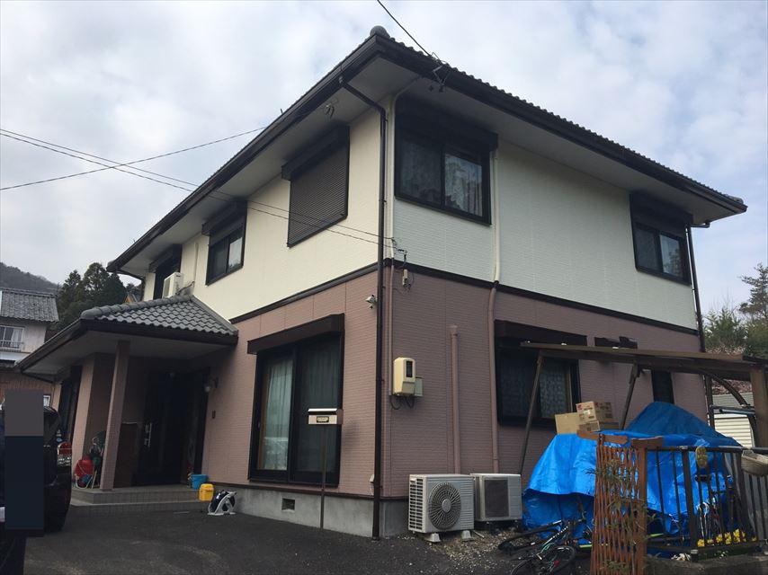土岐市妻木町屋根外壁塗り替え後