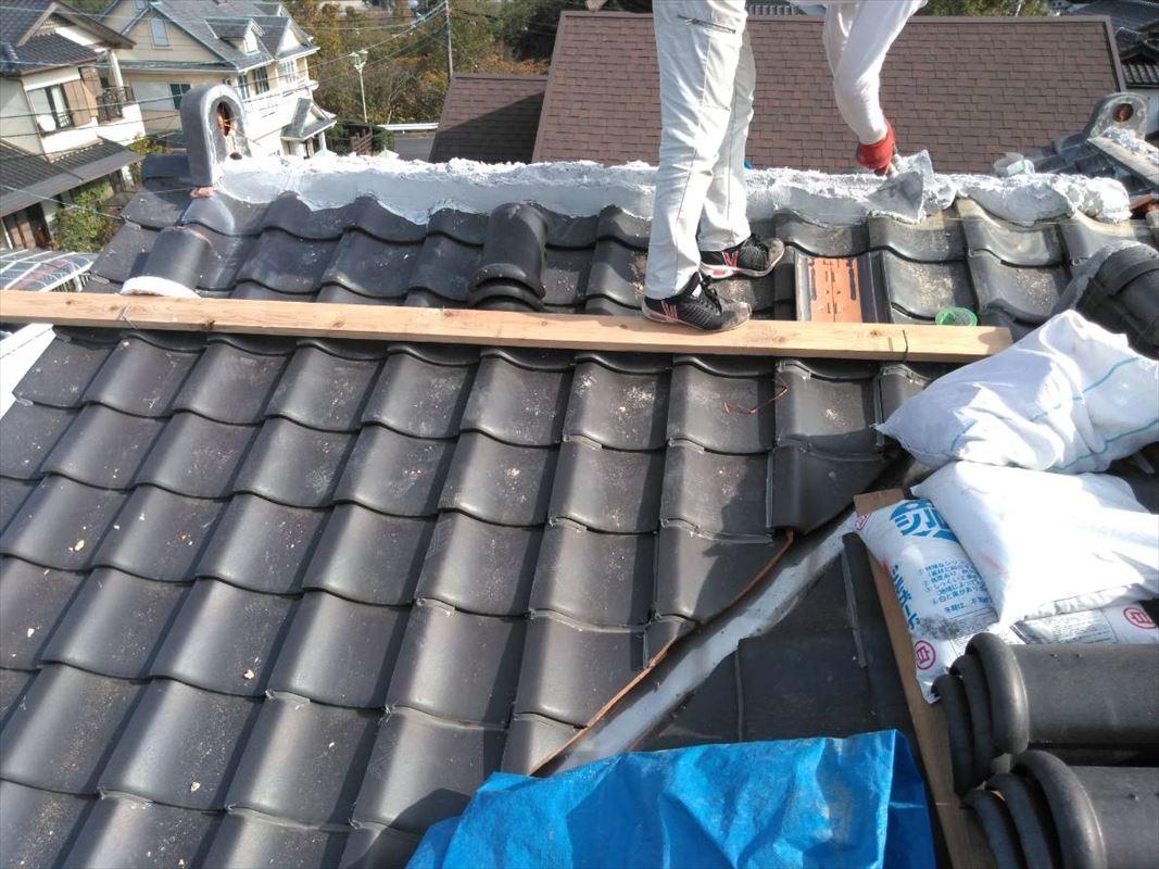 多治見市 屋根工事 頑丈な屋根 雨漏り修理