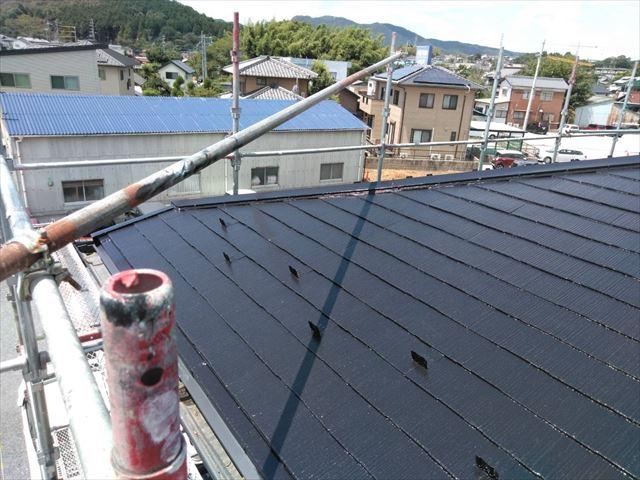 屋根塗装の完成です