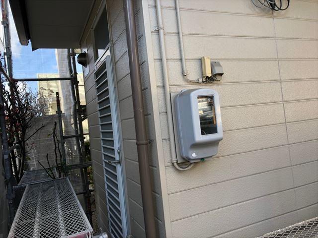 洗浄後のサイディング外壁です