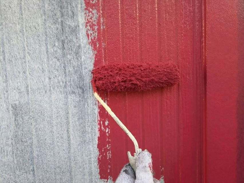 可児市外壁雨で洗い流せる塗料