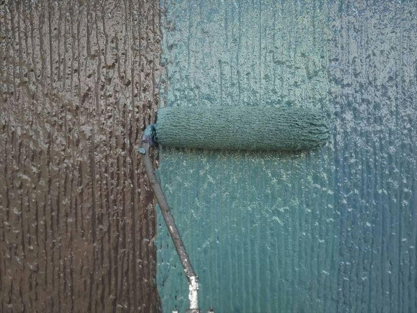 可児市外壁上塗りアステックペイント