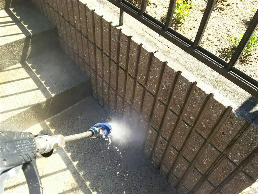 多治見市玄関ポーチバイオ洗浄