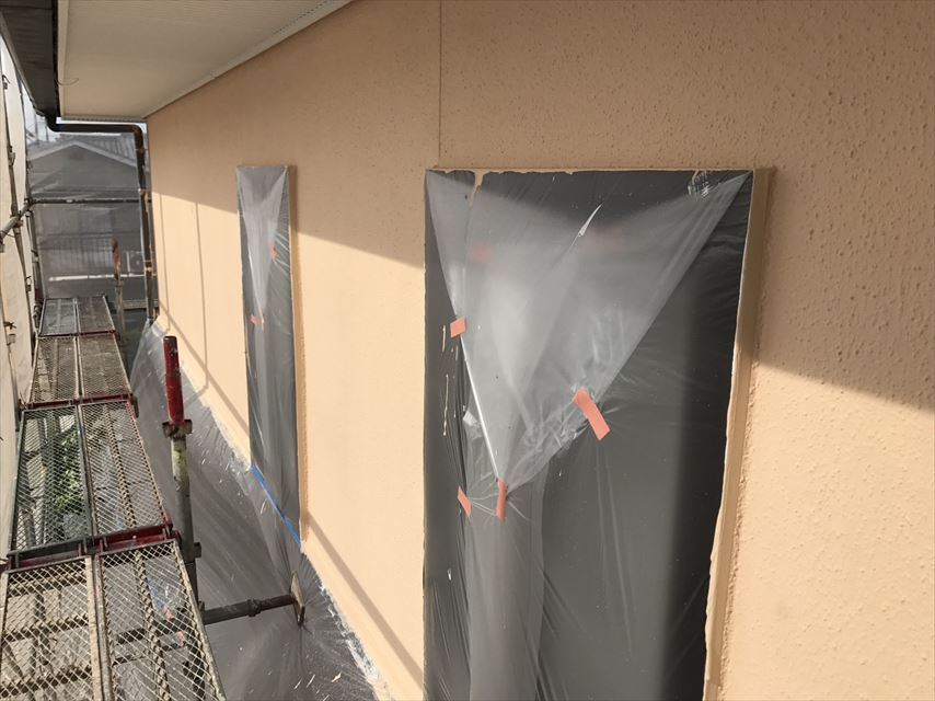 土岐市外壁上塗り