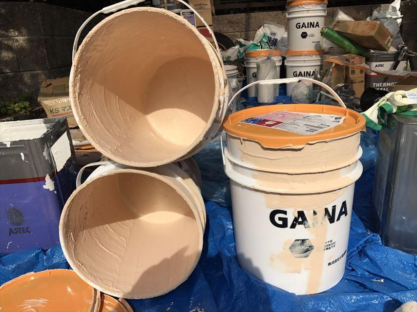 土岐市ガイナ塗料缶