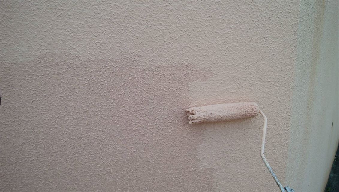 多治見大洞福島塀上塗り