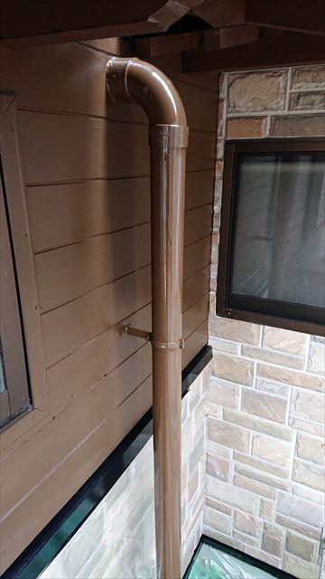 恵那市で外壁塗装 雨樋塗装