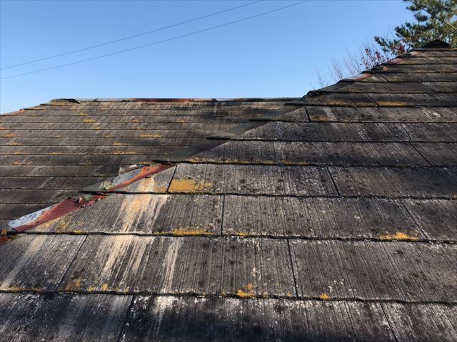 スレート屋根の劣化・損傷