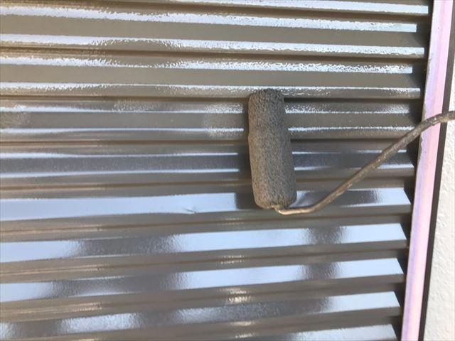 瑞浪市で外壁塗装雨戸塗装2回目