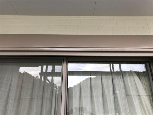 恵那市長島町で外壁塗装シャッターBOX塗装