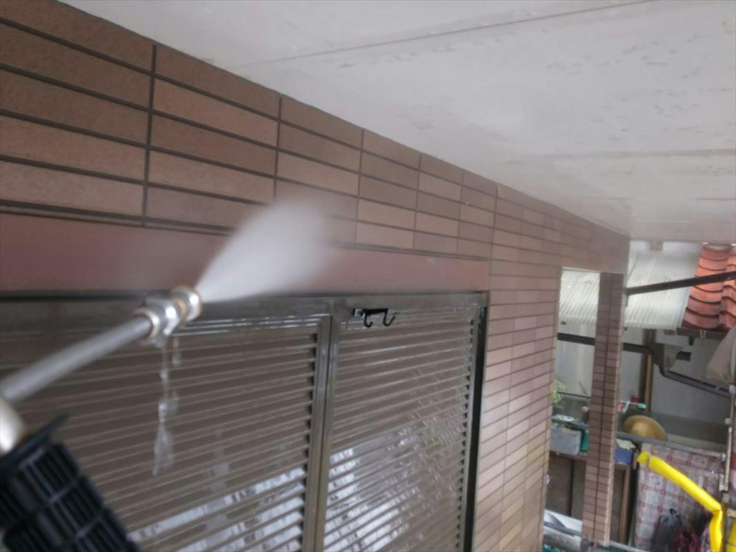 瑞浪 土岐 外壁洗浄 塗装の下処理