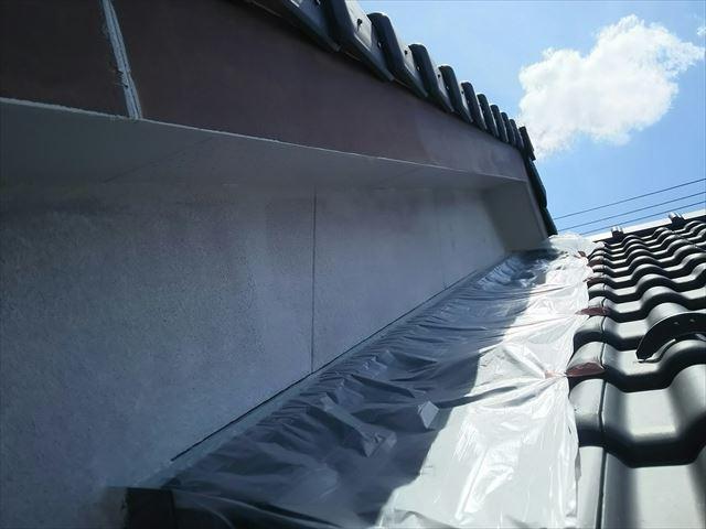 瑞浪市外壁下塗り塗装