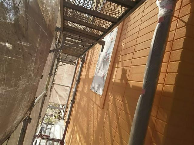 瑞浪市外壁中塗り塗装