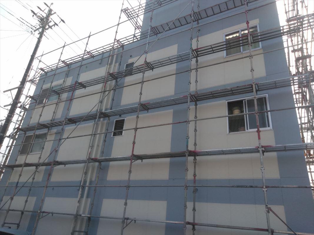 多治見 屋上防水 外壁塗装 2色塗り