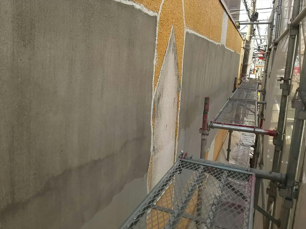 多治見 外壁補修 下地処理 モルタル補修