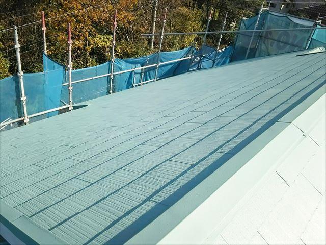 瑞浪市で屋根塗装 下塗り