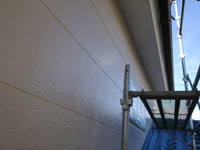 恵那市で外壁塗装 下塗り