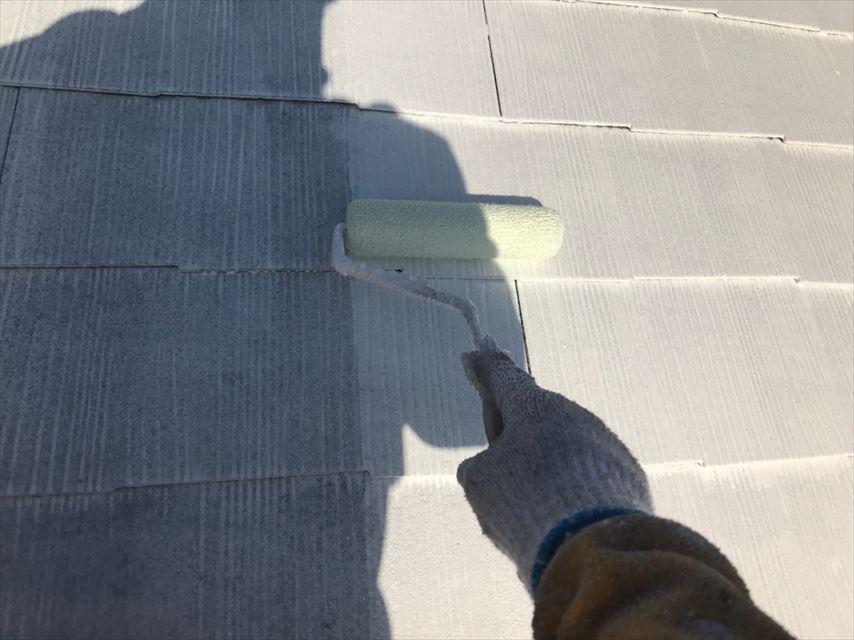 多治見市屋根下塗り2回