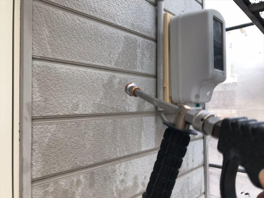 多治見市市之倉町外壁バイオ洗浄