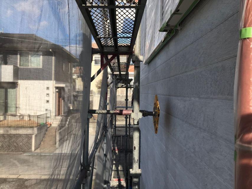 多治見市市之倉町外壁下塗り後