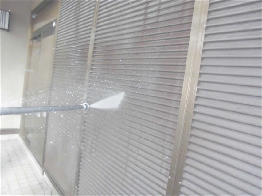 多治見市小名田町外壁バイオ洗浄
