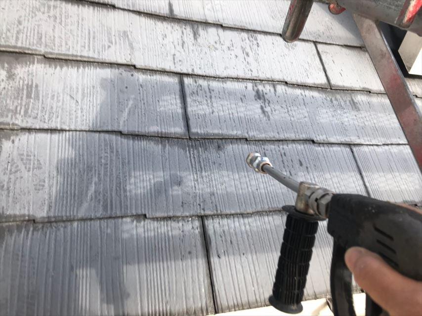 多治見市脇之島町屋根バイオ洗浄