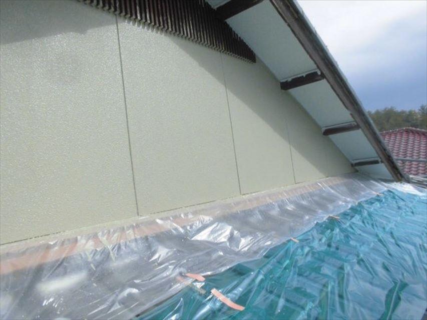 多治見市小名田町外壁フッ素塗装