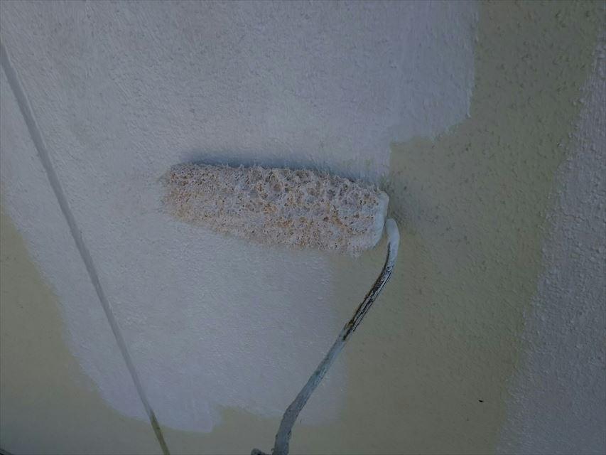 多治見市脇之島町外壁下塗り