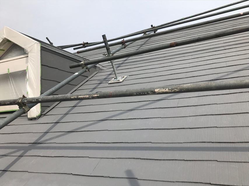 多治見市脇之島町屋根塗り替え完成