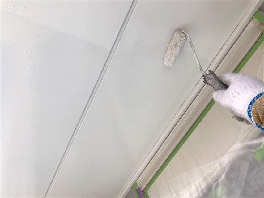 多治見市脇之島町ベランダ天井塗り替え