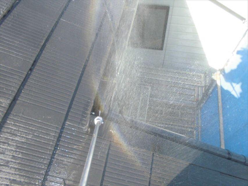 多治見市市之倉町樋の中バイオ洗浄