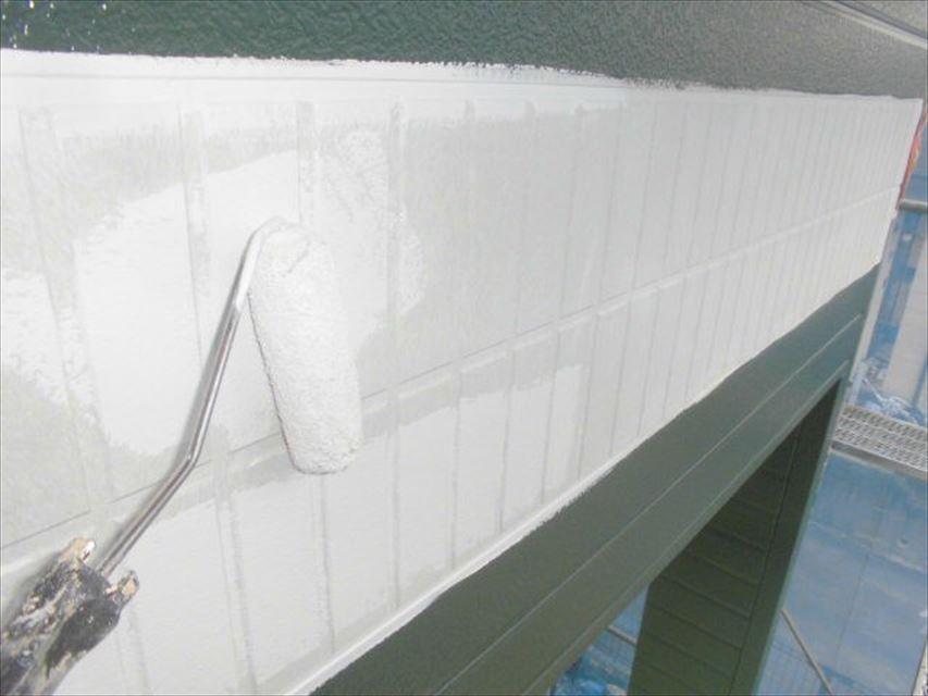 多治見市市之倉町外壁ライン