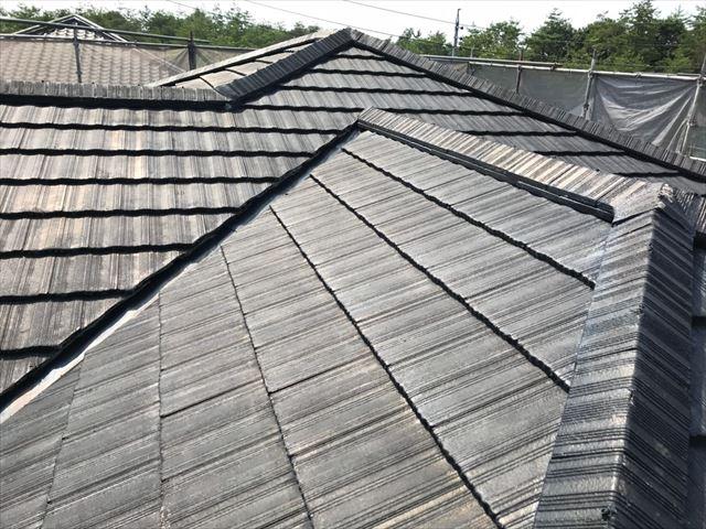 屋根の洗浄です