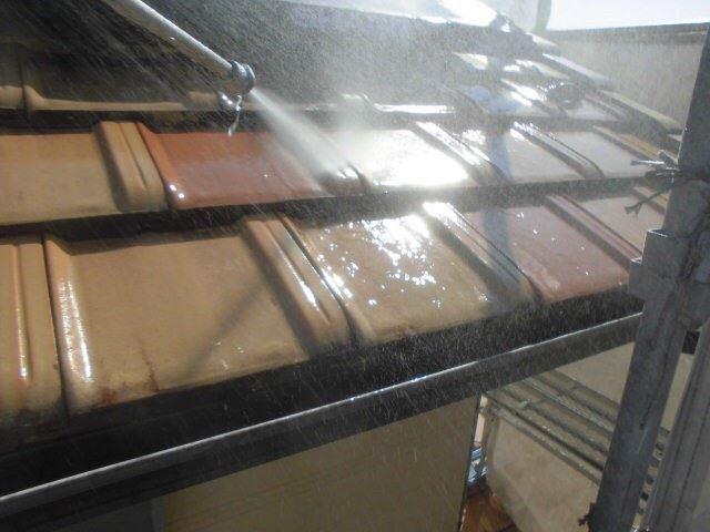 恵那市で外壁塗装 屋根のバイオ洗浄をおこないました