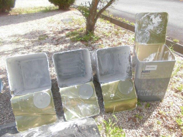 恵那市で外壁塗装 下塗り塗料缶