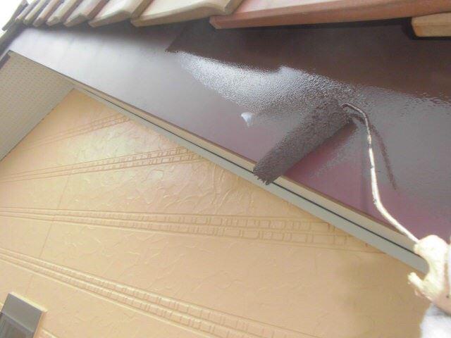 恵那市で外壁塗装 付帯部塗装
