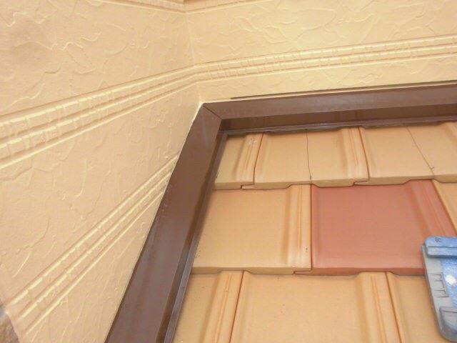 恵那市丸山町で外壁塗装 水切り塗装