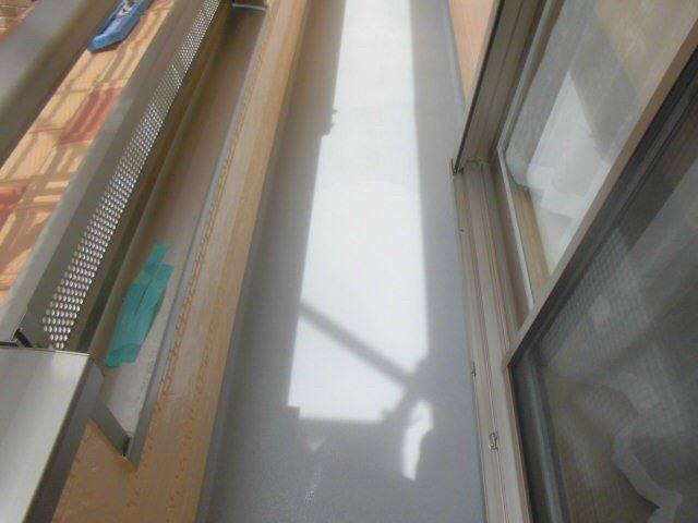 恵那市岩村で外壁塗装 ベランダ塗装L2完了