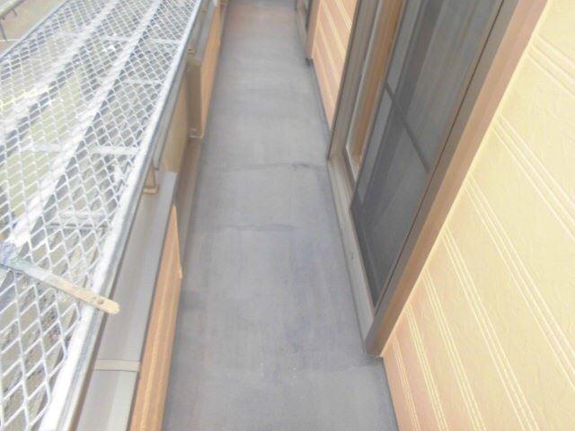 恵那市岩村で外壁塗装 ベランダ塗装L1完了
