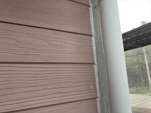 恵那市で外壁塗装、コーキング