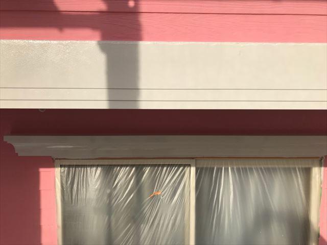 恵那市で外壁塗装幕板塗装