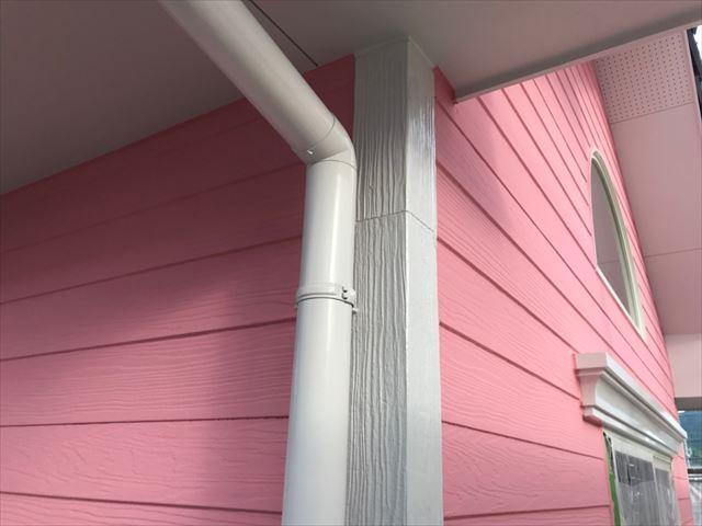 恵那市で外壁塗装たて樋塗装