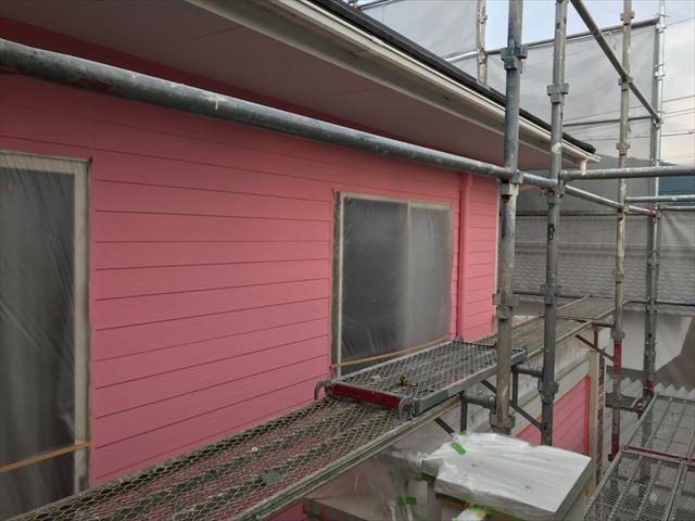 恵那市で外壁塗装完成
