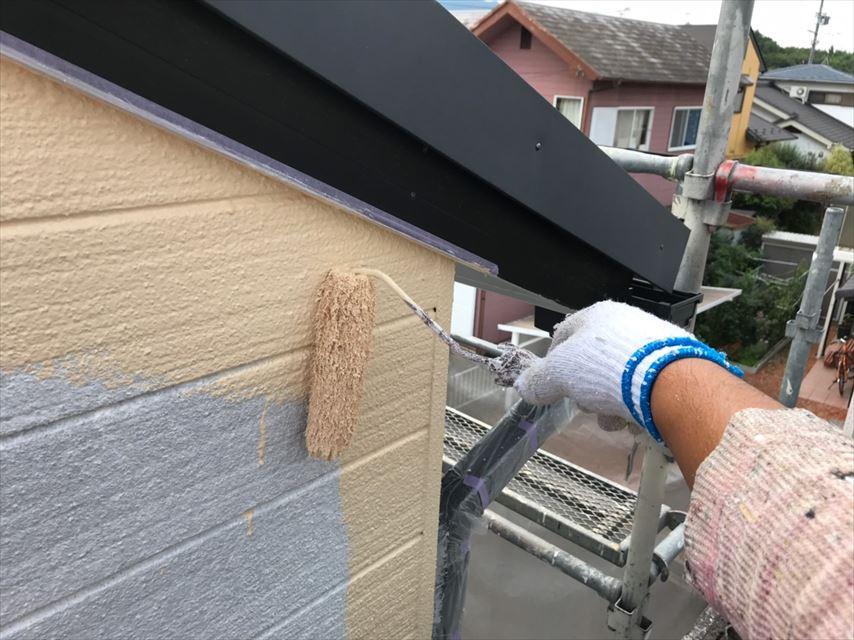 多治見市市之倉町外壁塗り替え